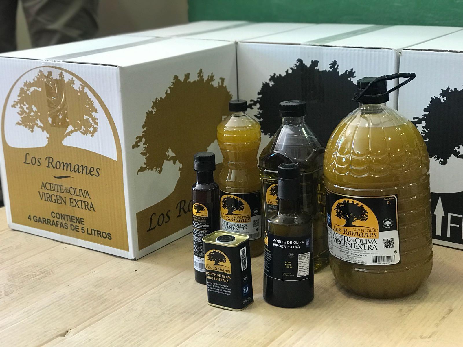 Aceite de oliva virgen extra Los Romanos