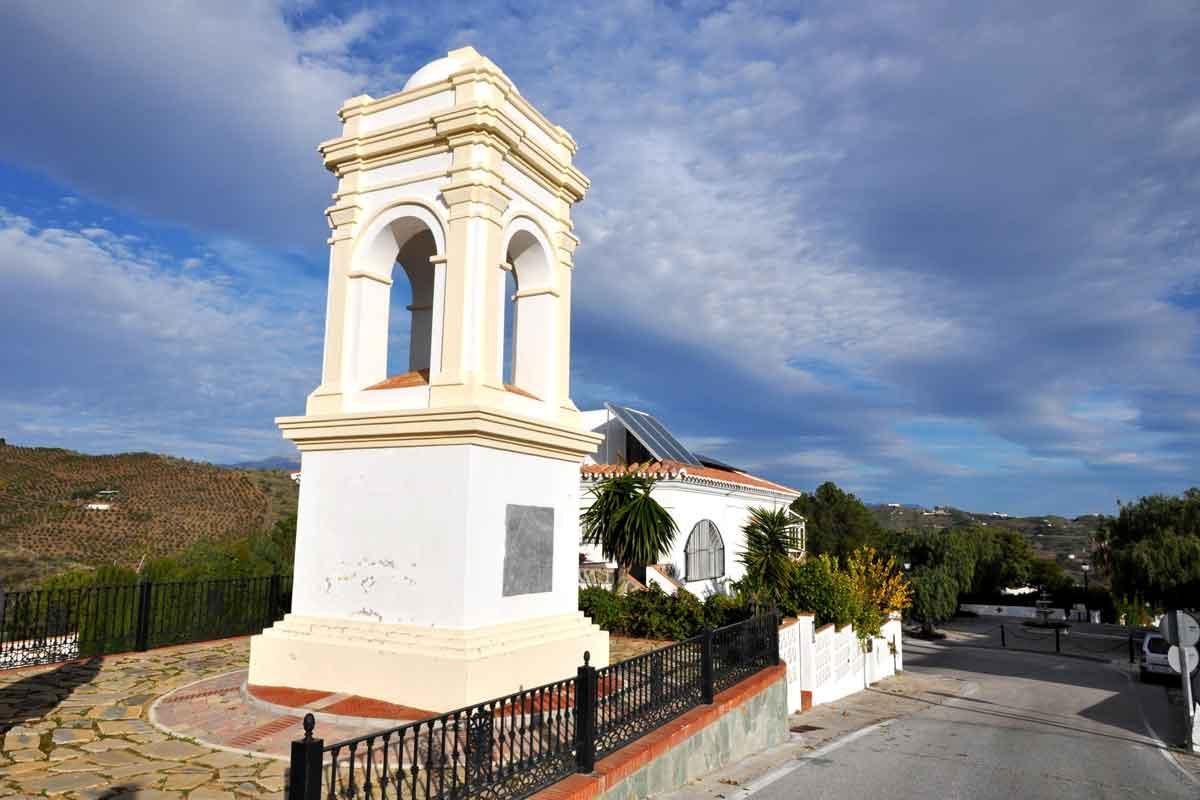 Humilladero de Los Gálvez en Macharaviaya (familia de Bernardo Gálvez)