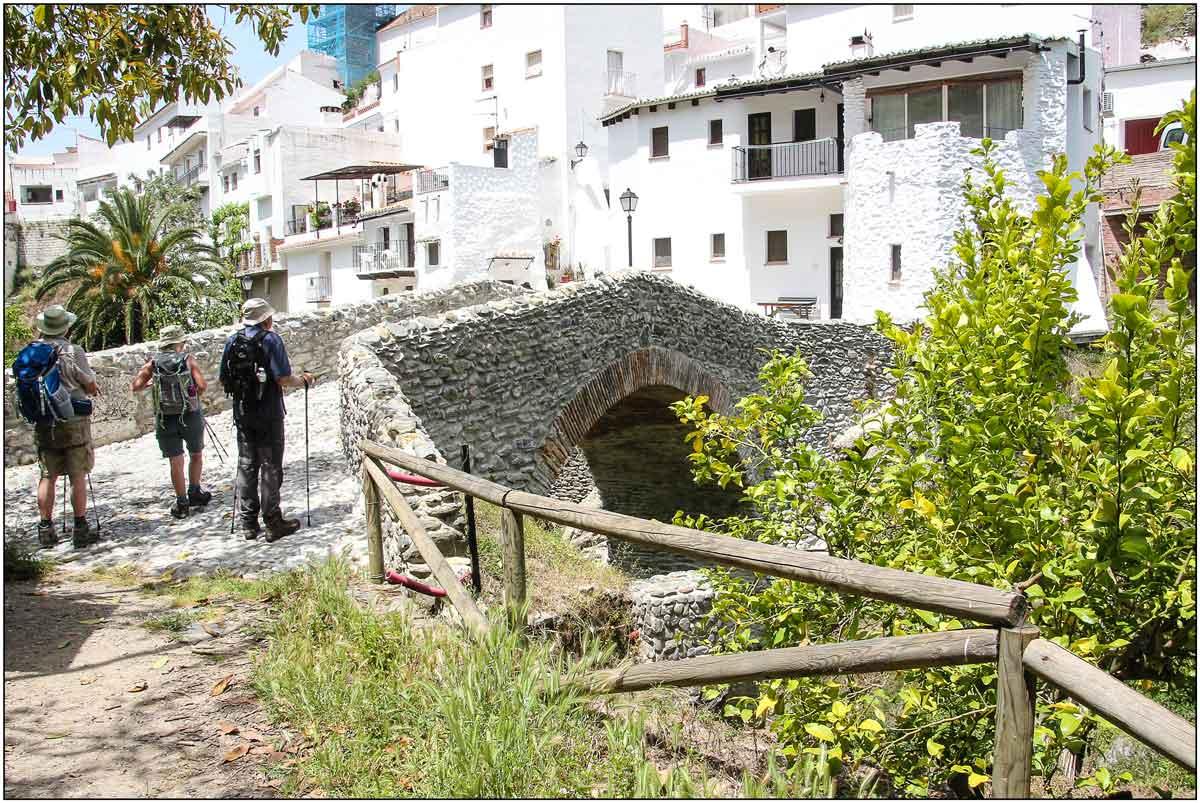 Puente de Salares, Ruta Mudéjar de Málaga