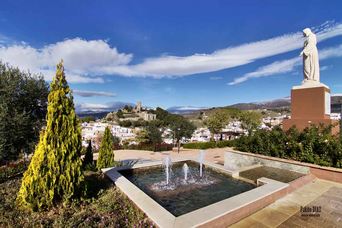 Qué ver en Vélez-Málaga, Cerro de San Cristóbal
