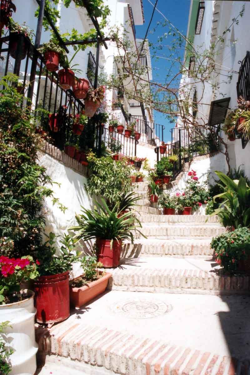 calle Peña La Axarquía turismo