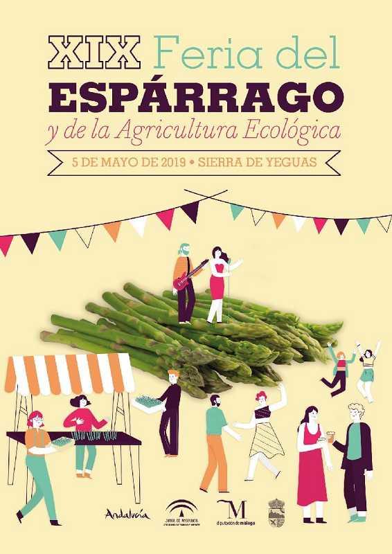 Cartel Feria Espárrago Sierra de Yeguas