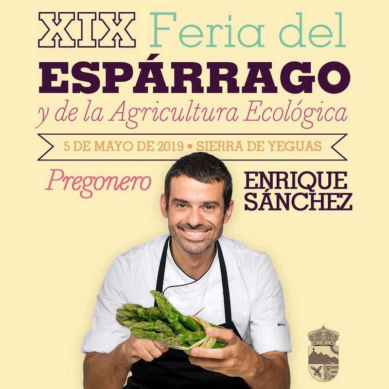 Pregonero Chef Enrique Sánchez