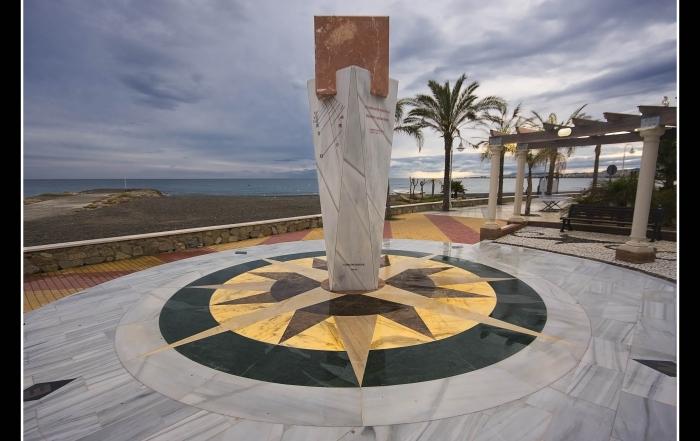 Reloj de Sol en Algarrobo Costa